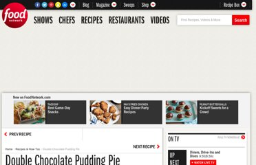 http://www.foodnetwork.com/recipes/ellie-krieger/double-chocolate-pudding-pie-recipe/index.html