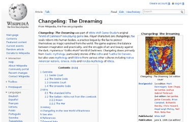 http://en.wikipedia.org/wiki/Changeling:_The_Dreaming