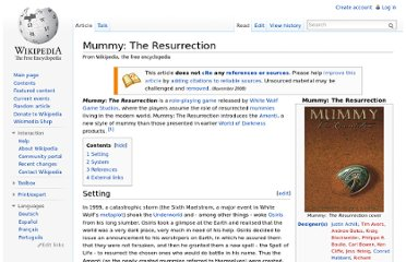 http://en.wikipedia.org/wiki/Mummy:_The_Resurrection