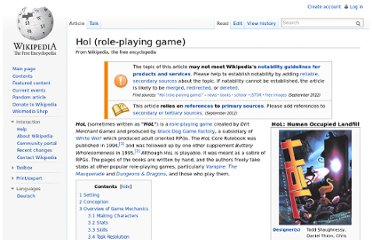 http://en.wikipedia.org/wiki/Hol_(role-playing_game)