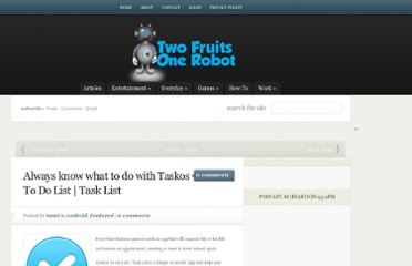 http://www.twofruitsonerobot.com/always-know-taskos-list-task-list/