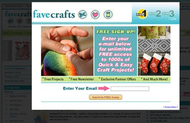 http://www.favecrafts.com/Knitting-for-Baby/page/1#