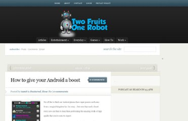 http://www.twofruitsonerobot.com/how-to-give-your-android-a-boost/
