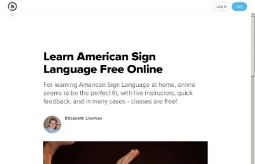 http://suite101.com/article/learn-american-sign-language-free-online-a102056