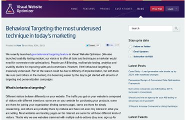 http://visualwebsiteoptimizer.com/split-testing-blog/behavioral-targeting/