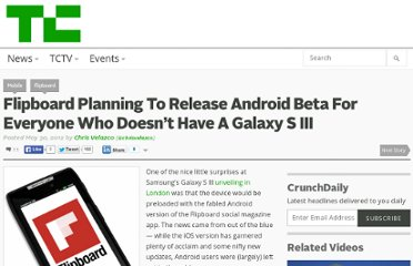 http://techcrunch.com/2012/05/30/flipboard-for-android-beta/