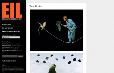 http://www.escapeintolife.com/artist-watch/teun-hocks/
