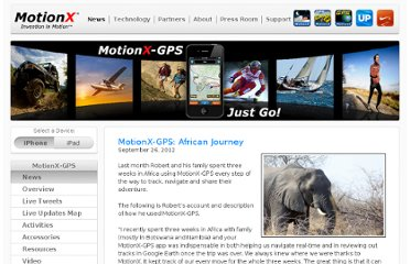 http://news.motionx.com/category/motionx-gps/