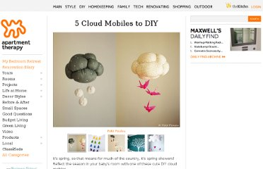 http://www.apartmenttherapy.com/5-cloud-mobiles-to-diy-168438