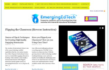 http://www.emergingedtech.com/category/flipping-the-classroom-reverse-instruction/