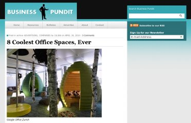 http://www.businesspundit.com/8-coolest-office-spaces-ever/