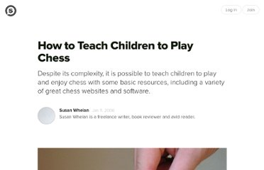 http://suite101.com/article/chess-for-children-a41062