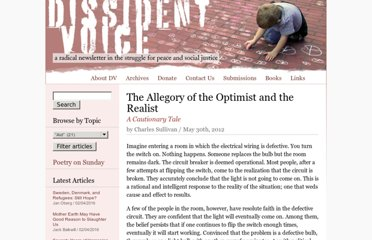 http://dissidentvoice.org/2012/05/the-allegory-of-the-optimist-and-the-realist/