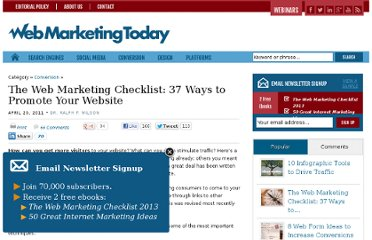 http://webmarketingtoday.com/articles/checklist/