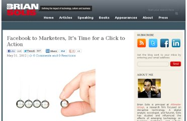 http://www.briansolis.com/2012/05/facebook-to-marketers-its-time-for-a-click-to-action/