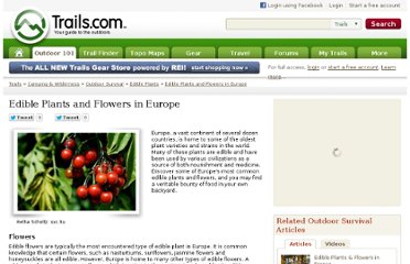 http://www.trails.com/list_7953_edible-plants-flowers-europe.html
