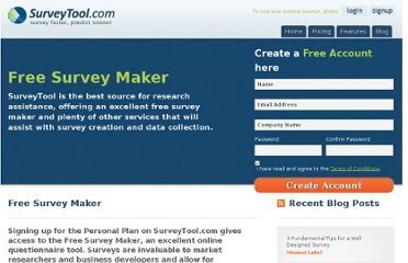 http://www.surveytool.com/free-survey-maker/