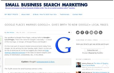 http://www.smallbusinesssem.com/google-places-marries-google-gives-birth-to-new-google-local-pages/5828/