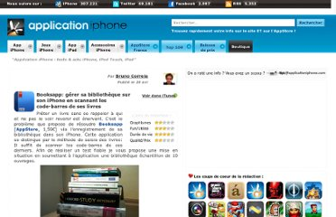 http://www.applicationiphone.com/2010/04/booksapp-gerer-sa-bibliotheque-sur-son-iphone-en-scannant-les-code-barres-de-ses-livres/