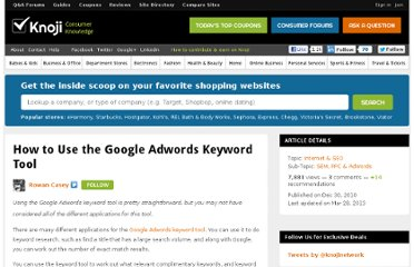 http://sem-ppc-adwords.knoji.com/how-to-use-the-google-adwords-keyword-tool/