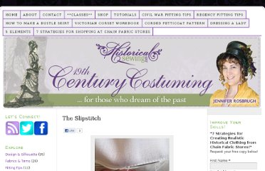http://historicalsewing.com/tutorials/the-slipstitch