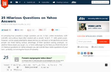 http://list25.com/25-hilarious-questions-on-yahoo-answers/