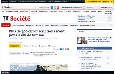 http://www.lemonde.fr/societe/article/2012/05/31/plus-de-400-circonscriptions-n-ont-jamais-elu-de-femmes_1710050_3224.html#xtor=EPR-32280552-[NL_Legislatives_gratuite]-20120531-[liste]