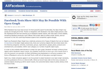 http://allfacebook.com/facebook-tests-show-seo-may-be-possible-with-open-graph_b15187