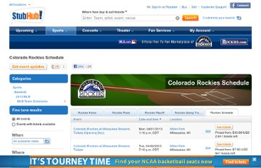 http://www.stubhub.com/colorado-rockies-schedule/