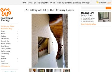 http://www.apartmenttherapy.com/a-gallery-of-out-of-the-ordinary-front-doors-171846