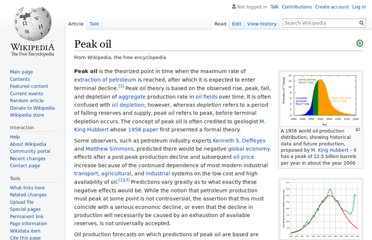 https://en.wikipedia.org/wiki/Peak_oil
