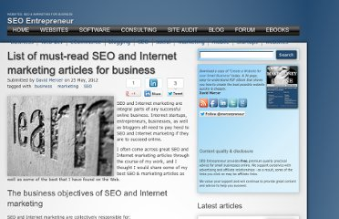 http://www.siteprebuilder.com/content/list-must-read-seo-and-internet-marketing-articles-business