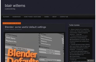 http://blairwillems.com/2012/05/30/blender-some-useful-default-settings/