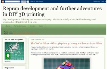 http://richrap.blogspot.com/2011/10/art-of-failure-when-3d-prints-go-wrong.html