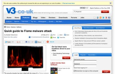 http://www.v3.co.uk/v3-uk/analysis/2180625/quick-guide-flame-malware-attack