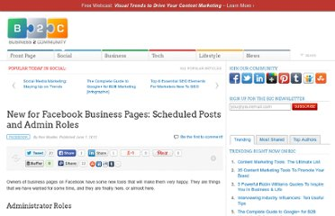 http://www.business2community.com/facebook/new-for-facebook-business-pages-scheduled-posts-and-admin-roles-0188033