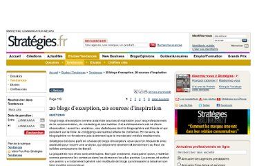 http://www.strategies.fr/etudes-tendances/tendances/119742W/20-blogs-d-exception-20-sources-d-inspiration.html