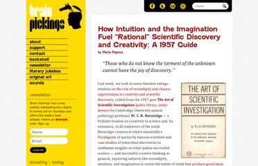 http://www.brainpickings.org/index.php/2012/06/01/the-art-of-scientific-investigation-beveridge-2/