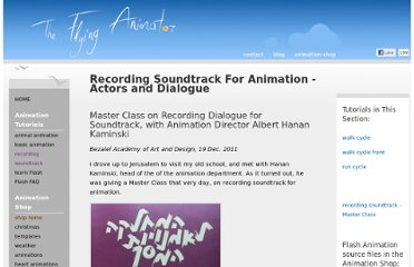 http://www.the-flying-animator.com/recording-soundtrack.html