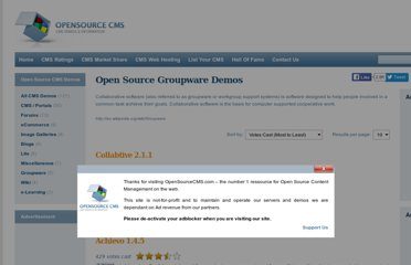 http://www.opensourcecms.com/scripts/show.php?catid=4&category=Groupware
