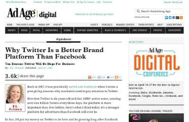 http://adage.com/article/digitalnext/twitter-a-brand-platform-facebook/235115/