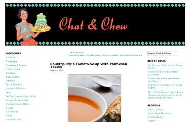http://www.chatandchew.info/2010/07/09/country-style-tomato-soup-with-parmesan-toasts/