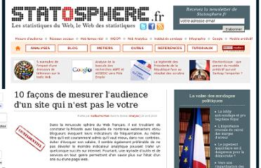 http://statosphere.fr/website/post/2010/04/29/10-facons-de-mesurer-la-frequentation-site-tiers