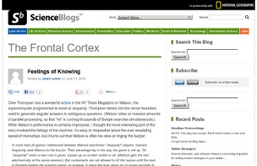 http://scienceblogs.com/cortex/2010/06/21/feelings-of-knowing/