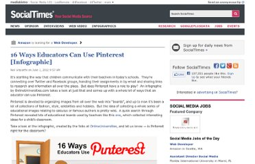 http://socialtimes.com/16-ways-educators-can-use-pinterest-infographic_b97520