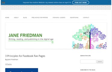 http://janefriedman.com/2011/08/16/3-principles-facebook-fan-pages/