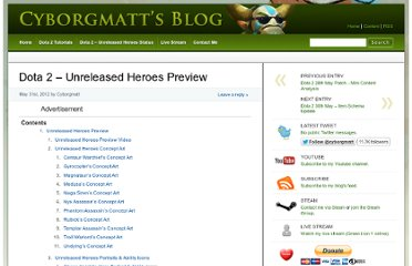 http://www.cyborgmatt.com/2012/05/dota-2-unreleased-heroes-preview/