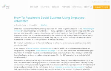 http://www.dachisgroup.com/2012/06/how-to-accelerate-social-business-using-employee-advocates/