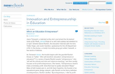 http://www.newschools.org/blog/who-is-an-education-entrepreneur