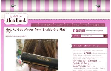 http://babesinhairland.com/hairstyles/how-to-get-waves-from-braids-a-flat-iron/